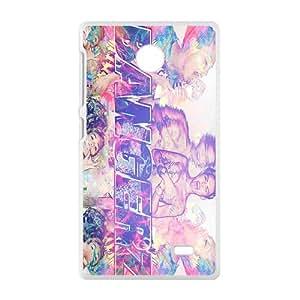 Bangerz Fashion High Quality Comstom Plastic case cover For Nokia Lumia X