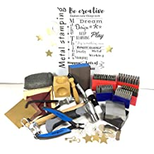 Jewelry stamp kit, Metal Stamping Kit, 3 Letter Sizes, 1.5mm, 2mm, 3m upper case, 2mm, 3mm lower case, jewelry stamping kit, letter metal stamp kit, jewelry stamp kit
