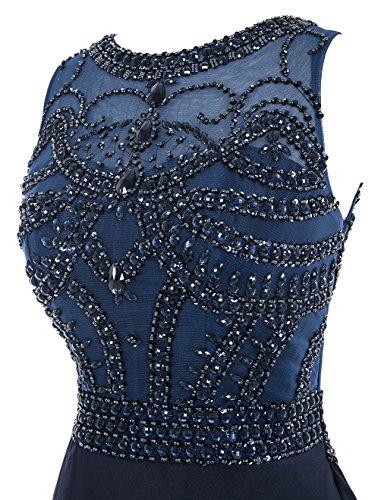 Dresstells®Vestido De Fiesta Largo Sirena Con Cola Para Noche Ceremonia Marfil