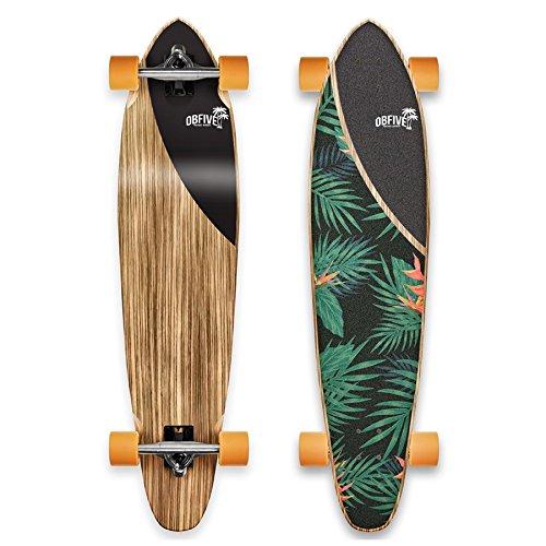 高級品市場 OBFive(オービーファイブ) Longboard スケートボード Springs B01N6GPZ1V Palm Springs 38