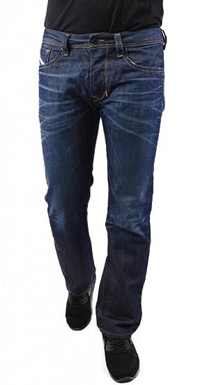 5c32184e Diesel Men's Larkee Straight Jeans Dark Blue: Amazon.co.uk: Clothing