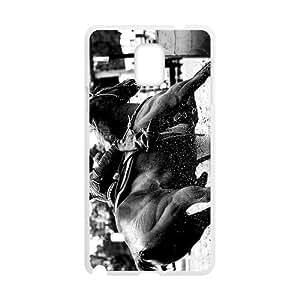 Canting_Good Barrel Racing Cowgirl Custom Case Shell Skin for SamSung Galaxy Note4 (Laser Technology) WANGJING JINDA