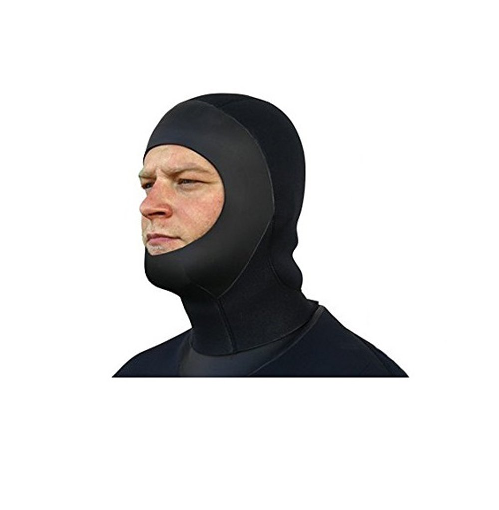 SEASOFT PRO 6MM COMMERCIAL DRYSUIT HOOD FOR USE WITH A FULL FACE MASK (Small)