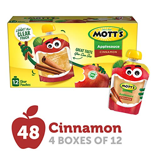 cinnamon apple sauce pouches - 4