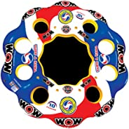 Wow World of Watersports Tube A Rama Floating Island 1 2 3 4 5 6 7 8 9 or 10 Person Inflatable Floating Island