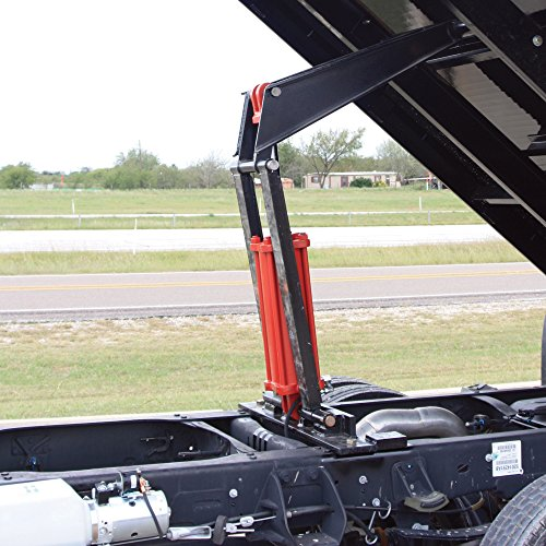 pierce arrow flatbed truck hoist kit - 7 5-ton capacity  8ft  to 12ft  flatbed