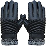 YQXCC Winter Men's Large Outdoor Sports Cycling Windproof Warm Gloves