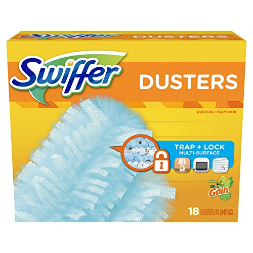Swiffer 180 Dusters, Multi Surface Refills with Gain Scent, 18 ()