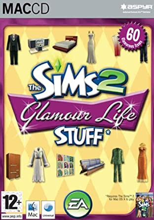 The Sims 2 Glamour Life Stuff Mac CD Amazoncouk PC Video Games