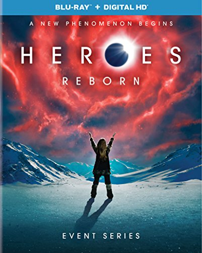 Blu-ray : Heroes Reborn: Event Series (Ultraviolet Digital Copy, 3 Pack, Digitally Mastered in HD, Snap Case, Slipsleeve Packaging)