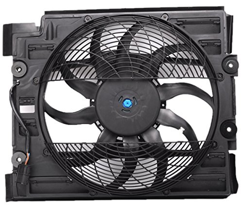 TOPAZ 64546921395 Cooling Fan Assembly for BMW E39 Bmw Auxiliary Fan Assembly