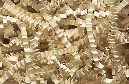 Crinkle Cut Paper Shred Filler (1 LB) for Gift Wrapping