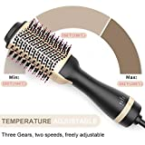 Hot Air Brush, Bongtai Hair Dryer Brush Hair Dryer