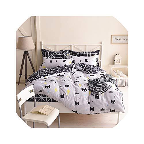 (Bedspreads Cartoon Bedding Sets Soft Kids Duvet Cover Set Quilt Cover Bed Set Single King Queen Double Bedclothes Batman Mask,Single)