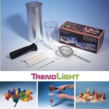 Kerzen Kreativ Set Kerzen selbst herstellen TrendLight 860491 Kerzen Bastelset Kerzengießen