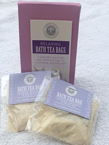Refreshing Bath Tea Bags Gift Set Wild Olive