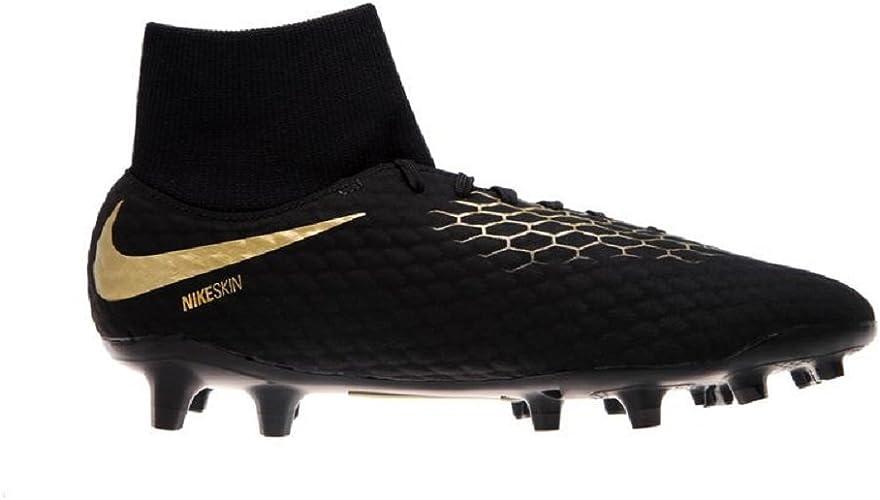 Nike Jr. Hypervenom Phantom 3 Academy FG Chaussures de football pour enfant Noir