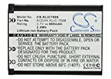 Cameron Sino 660mAh Li-ion High-Capacity Replacement Batteries for KODAK Easyshare M883 Zoom, Easyshare M873 Zoom, Easyshare M530, Easyshare M550, fits KODAK KLIC-7006