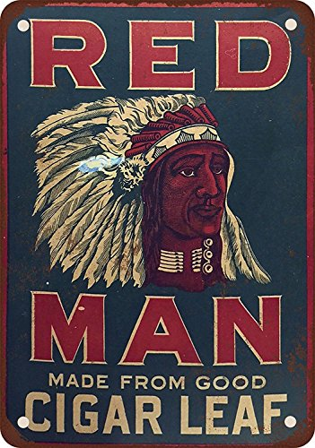 Chewing Tobacco Tin - banytree Red Man Chewing Tobacco 7