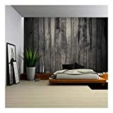 Best Wall Murals - wall26 - Old Dirty Wooden Wall - Removable Review