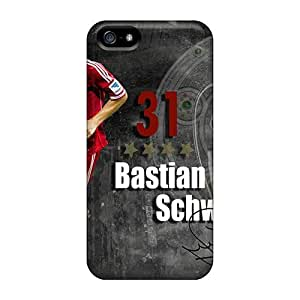 LJF phone case Faddish Phone The Best Halfback Of Bayern Bastian Schweinsteiger Case For Iphone 5/5s / Perfect Case Cover