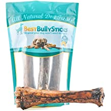 Jumbo Smoked Shin Bones by Best Bully Sticks (3 Pack) Free-Range Beef Dog Chews