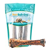Best Bully Sticks Jumbo Smoked Shin Bones by (3 Pack) Free-Range Beef Dog Chews
