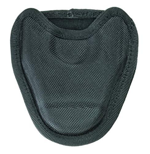 - Heros Pride Handcuff Case - Single - Open - Large, fits Asp, - Ballistic, Black
