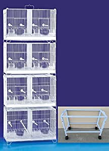 Amazon Com Combo Stack And Lock Double Breeder Cage