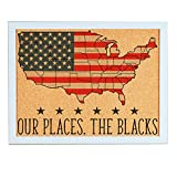 Lindsey Lou Patterns Custom Cork Board Map of
