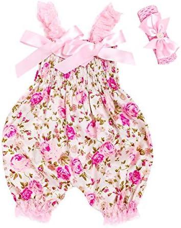 mioim Baby M/ädchen Spieler Pink Rose 0-24 Monate