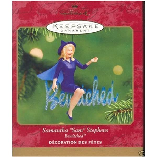 Bewitched Samantha Christmas Ornament//Magnet//DHM//Wall Art//Tabletop Decor