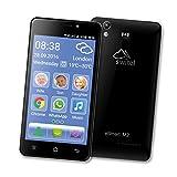Switel eSmart M2 Senioren-Smartphone SOS Taste black