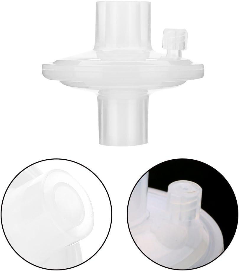 Filtros bacterianos para aspiradores de secreciones, filtros bacterianos para resucitadores y ventiladores, filtros de ventilación para la filtración de tubos de ventilación, filtros bacterianos dese