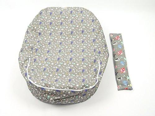 Cojines para tumbona de bebé, cojines de almacenamiento, alternativa al balancín o hamaca de bebé, también adecuado como saco para el asiento para niños, ...