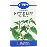 Alvita Tea Bags, Nettle Leaf, Caffeine Free, 24 tea bags [1.44 oz