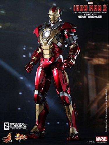 Hot Toys Marvel Iron Man 3 Heartbreaker Mark 17 XVII 1/6 Scale 12