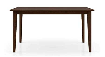 Urban Ladder Dexter 6 Seater Dining Table (Finish - Dark Walnut)