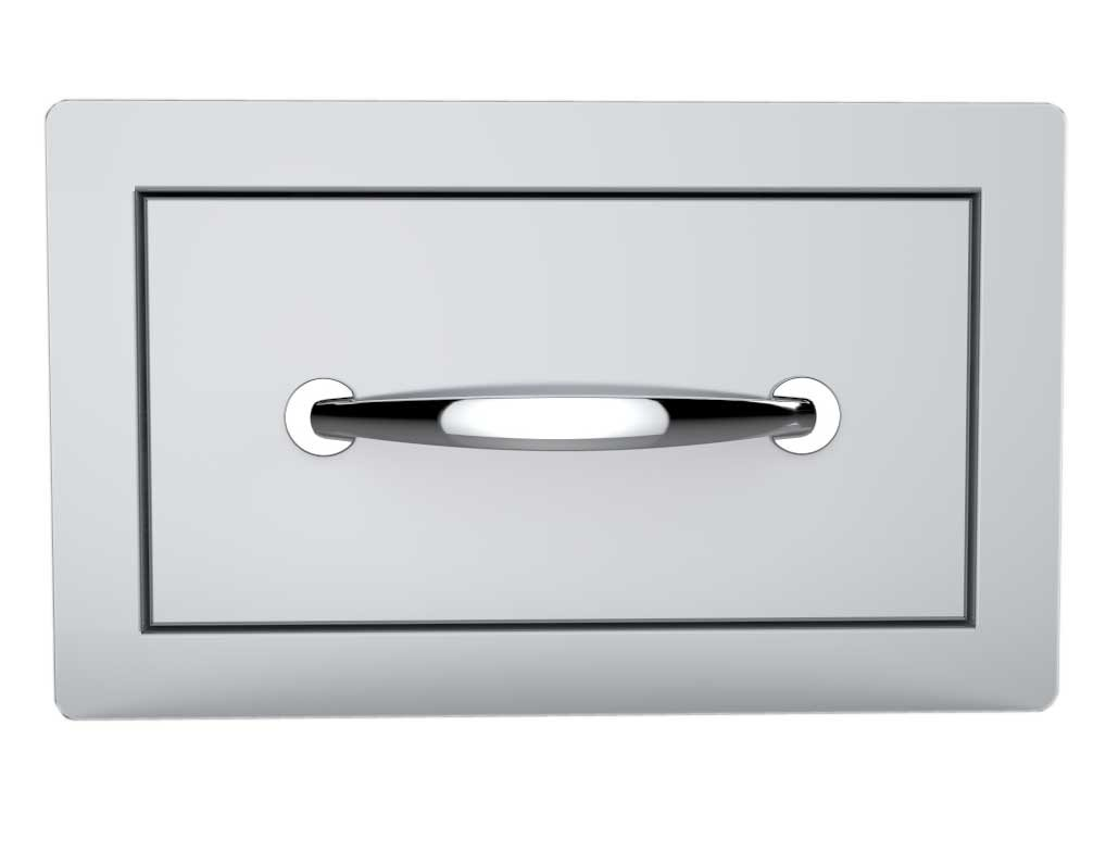 SUNSTONE B-SD6 14-Inch Flush Single Access Drawer by SUNSTONE