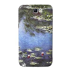 Seerosen 1906de Claude Monet completa 3d de alta calidad Printed Case, funda carcasa para Samsung Galaxy Note 2pintando obras maestras