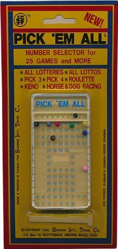 Lotto number selector