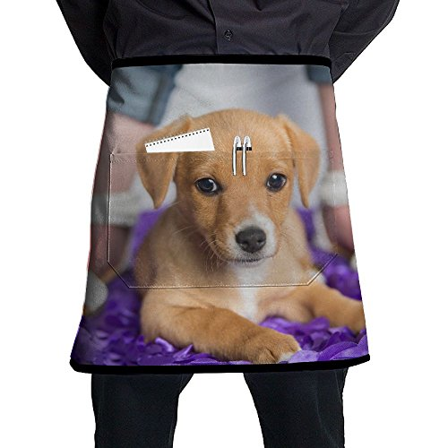 Dog Animals (2) Adjustable Apron With Pocket For Grilling Bacon Ladyâ€s Men's Great Gift For Wife Ladies Men Boyfriend