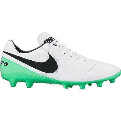 super cute 352ac 390a7 Nike Tiempo Mystic V AG de Pro Chaussures de Football, 103 White Black-