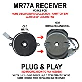 68 ceiling fan - Anderic MR77A.2 (Updated Version 2) Ceiling Fan Receiver for Home Decorators Collection and Hampton Bay Altura 68