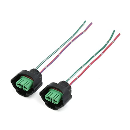 Amazon.com: uxcell 2 Pcs H11 Headlight Bulb Wire Harness ...