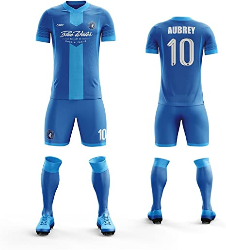 ORKY - Camiseta de fútbol para hombre, diseño de uniforme de ...