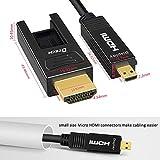 DTECH 32 Feet Fiber Optic HDMI Cable 4K 60Hz YUV