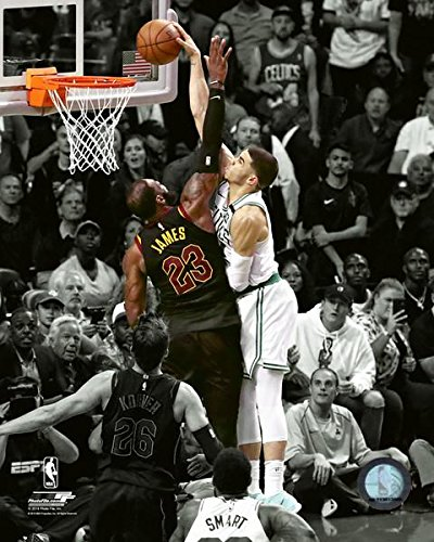 "Jayson Tatum Boston Celtics 2018 NBA Playoff Spotlight Action Photo (Size: 11"" x 14"")"