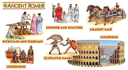 Social Studies Bulletin Board (Scholastic Teacher's Friend Ancient Rome Bulletin Board (TF8039))