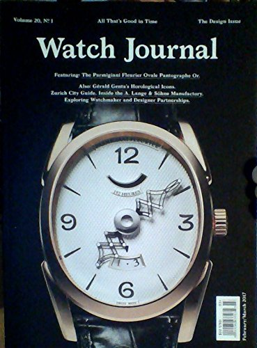 Price comparison product image Watch Journal - Volume 20, Number 1, February & March 2017 (The Design Issue)